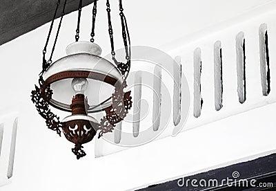 Ethnic malay lamp