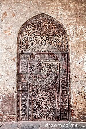 Free Ethnic Old Door Royalty Free Stock Photos - 31380068