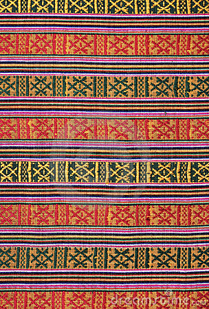 Ethnic pattern background, Sikkim
