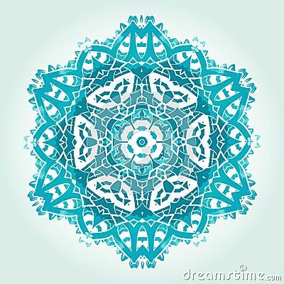 Free Ethnic Psychedelic Fractal Mandala Vector Meditation Looks Like Royalty Free Stock Photo - 83826655