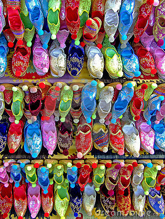 Free Ethnic Shoes Stock Photography - 1124782