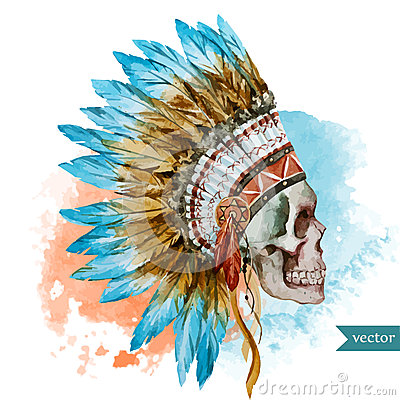Free Ethnic Skull Royalty Free Stock Photography - 51175847