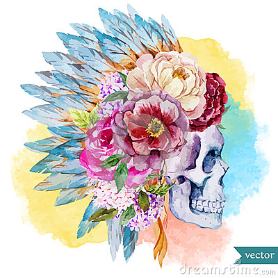 Free Ethnic Skull Stock Photo - 51175870