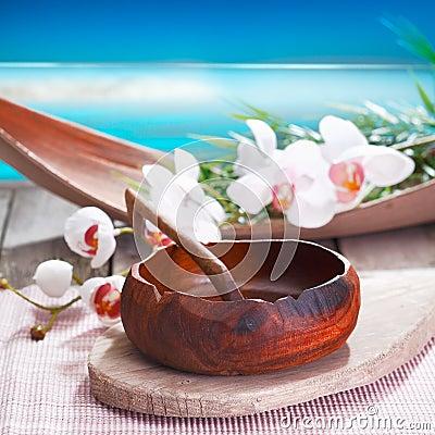 Ethnic spa treatment