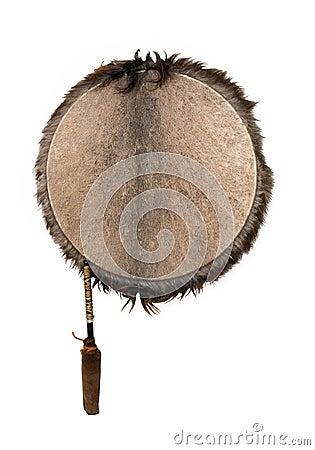 Ethnic tambourine.