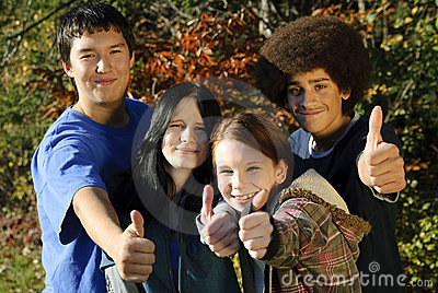 Ethnic Teen Thumbs 22