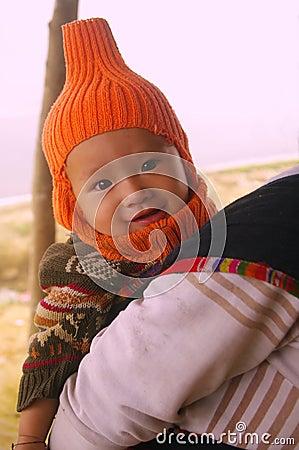 Ethnic Thai boy
