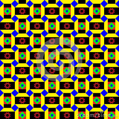 Funky African Pattern