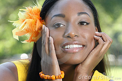 Ethnic Woman Face: African Beauty, Diversity