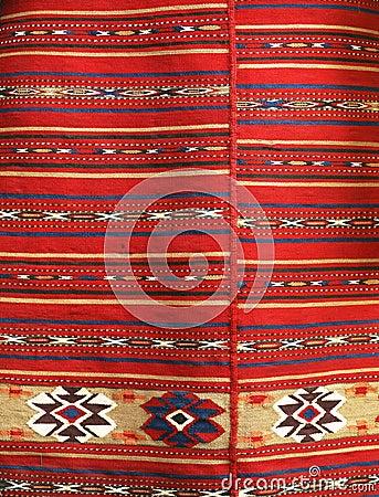 Ethno pattern fabric