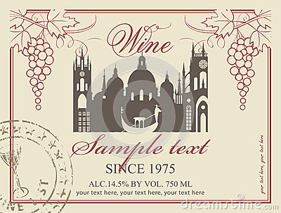 Etichetta del vino