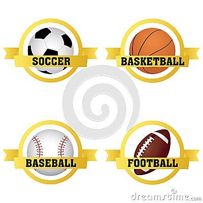 Etichette di sport