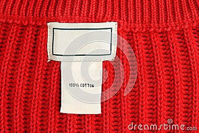 Etiqueta de vestuário