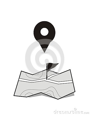 Etiquetas aisladas blancas de la localización