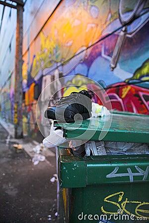 Etiquetas de la calle de Vancouver