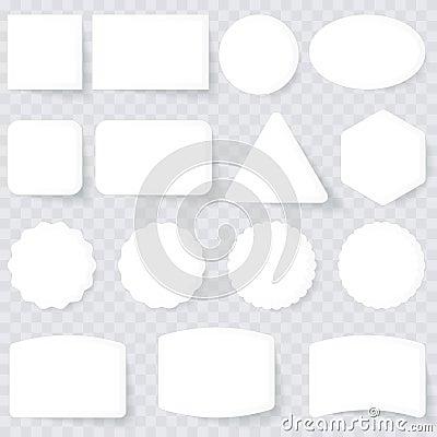 Etiquetas do branco
