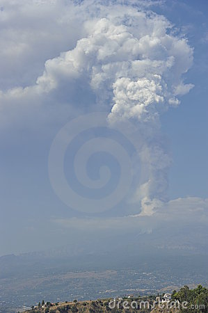 Etna, Eruption
