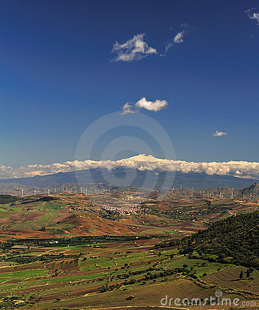 Etna Sicilian landscape 3