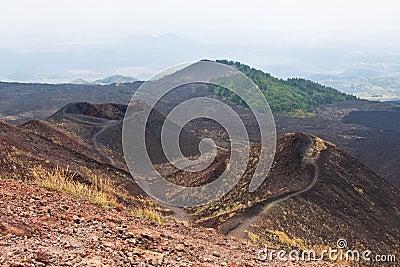 Etna surroundings