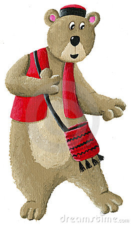 Etno bear dancing