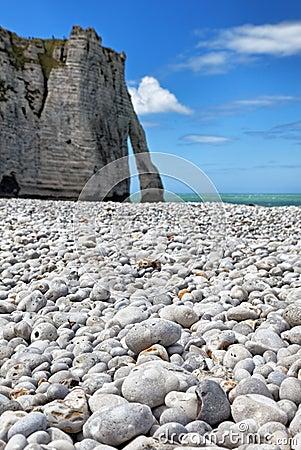 Etretat岩石
