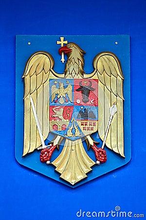 Ett Rumänien felanmälan av armar