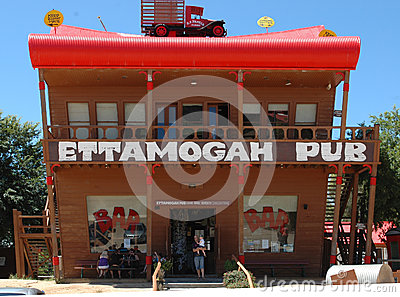 Ettamogah Pub. Editorial Photo