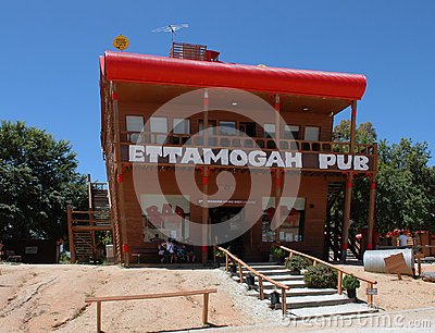 Ettamogah Pub. Editorial Stock Image