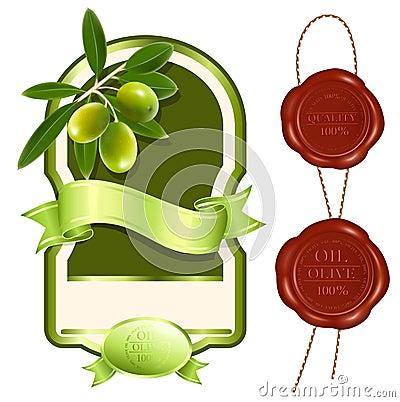 Etykietka produkt nafciany oliwny