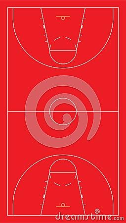 EU basketball court