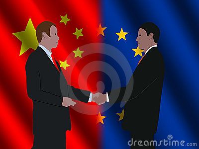 EU Chinese business meeting