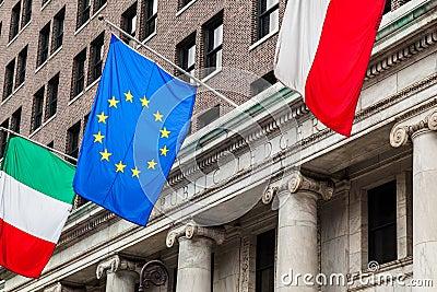 EU Flag Philadelphia