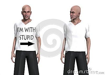 Eu sou com estúpido
