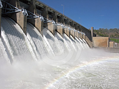 Eufaula Dam in Oklahoma
