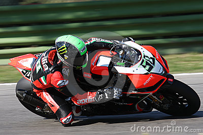 Eugene Laverty Aprilia RSV4 Aprilia Racing Team Editorial Photo