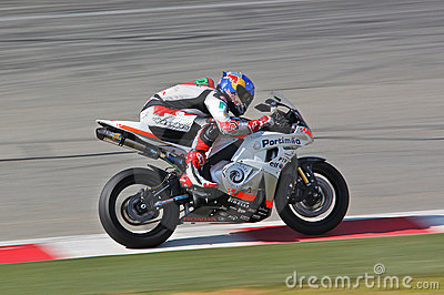 Eugene Laverty Winner Supersport Race Kyalami Editorial Photography