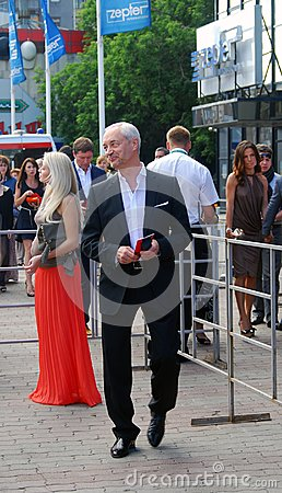Eugeniy Gerasimov at Moscow Film Festival Editorial Stock Image