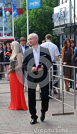 Eugeniy Gerasimov at Moscow Film Festival Editorial Stock Image
