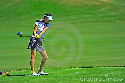 Eun An LPGA Safeway Classic Pro-AM Editorial Photography