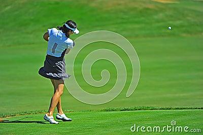 Eun An LPGA Safeway Classic Pro-AM Editorial Image