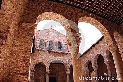 Euphrasius basilica in Porec, Croatia