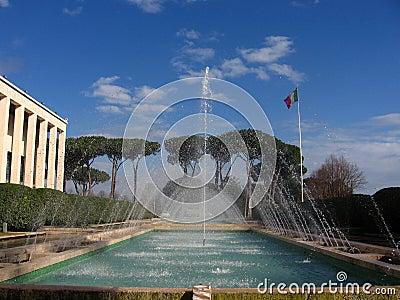 EUR Fountain
