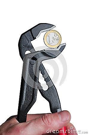 Eur money under pressure