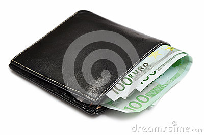 Eur money in wallet