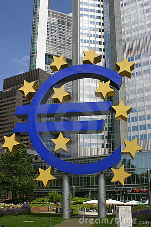 Euro Immagine Stock Editoriale