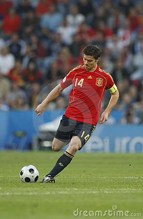 Euro 2008 - Greece v. Spain June 18, 2008 Editorial Photo