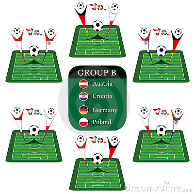 Free Euro 2008 Group B Royalty Free Stock Images - 5225659