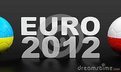 Euro 2012 Editorial Stock Image