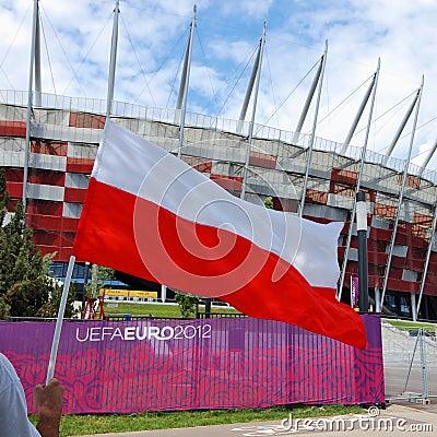 Euro 2012 Editorial Photo