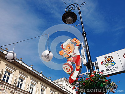 Euro 2012 Mascot Editorial Image